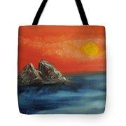 Rocks In The Flathead Lake Tote Bag