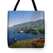 Rocks In The Sea, Carmel, California Tote Bag