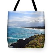 Rocks Ocean Surf And Sun Tote Bag