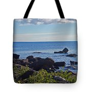Rocks Of Lake Superior Tote Bag