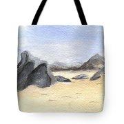 Rocks On Beach Tote Bag