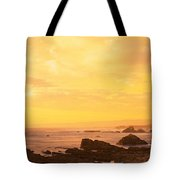 Rocks On The Coast, Mendocino Tote Bag