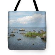 Rocks On The Baltic Sea Tote Bag