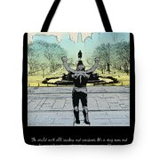 Rocky - All Sunshine And Rainbows Tote Bag by Bill Cannon