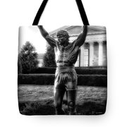 Rocky Balboa Tote Bag by Bill Cannon