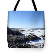 Rocky Beach Tote Bag by Barbara Snyder