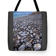 Rocky Beach Normandy France Tote Bag