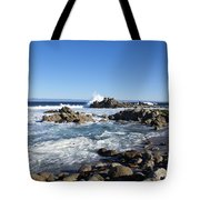Rocky Beach On 17 Mile Drive Tote Bag
