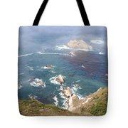 Rocky California Coast Tote Bag