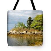 Rocky Coast In Maine Tote Bag