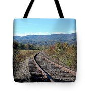 Rocky Creek Railroad Tote Bag