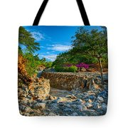 Rocky Garden Walk Tote Bag