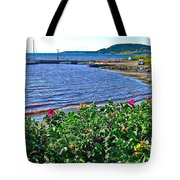 Rocky Harbour Roses-nl Tote Bag