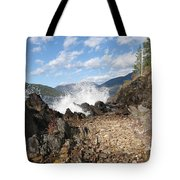 Rocky Ledges Tote Bag