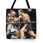Rocky Marciano V Jersey Joe Walcott Quotes Tote Bag