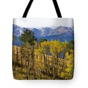 Rocky Mountain Autumn Tote Bag