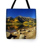 Rocky Mountain Beach Tote Bag