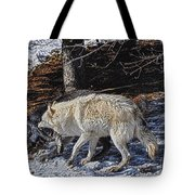 Rocky Mountain Encounter Tote Bag by Skye Ryan-Evans