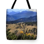 Rocky Mountain Evening Tote Bag