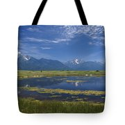 Rocky Mountain Lake Tote Bag