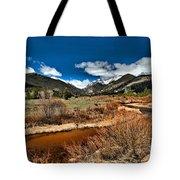 Rocky Mountain Meadows Tote Bag