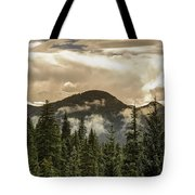 Rocky Mountain Red Tote Bag