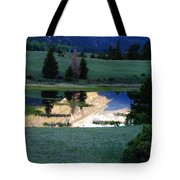 Rocky Mountain Reflection Tote Bag