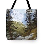 Rocky Mountain Solitude Tote Bag