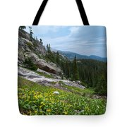 Rocky Mountain Summer Tote Bag