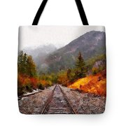 Rocky Mountaineer Tote Bag