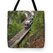 Rocky Mountaineer Railway Tote Bag
