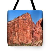 Rocky Mountains Of Zion Tote Bag