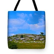 Rocky New England Hill Tote Bag