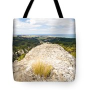 Rocky Outcrops Of Trotters Gorge Otago Nz Tote Bag
