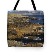 Rocky Seashore Tote Bag