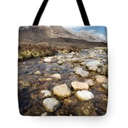 Rocky Stream From Beinn Eighe Tote Bag