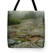 Rocky View From Near The Top Tote Bag