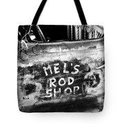 Rod Shop Truck Tote Bag