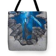 Rod Tryon Whale Tote Bag