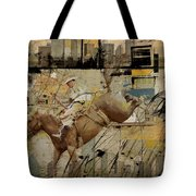 Rodeo Abstract 001 Tote Bag