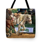 Rodeo Action Tote Bag