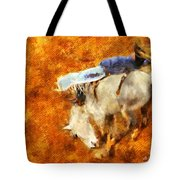 Eight-second Ride Tote Bag