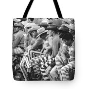 Rodeo Cowboy Prisoners Tote Bag
