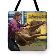 Rodeo Fit To Be Tied Tote Bag