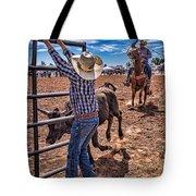 Rodeo Gate Keeper Tote Bag