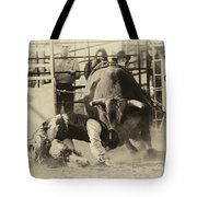 Rodeo Prepared To Be Punished Tote Bag