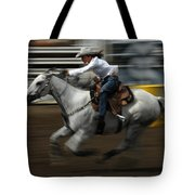 Rodeo Riding A Hurricane 1 Tote Bag