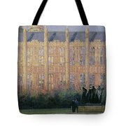Rodin In London Oil On Canvas Tote Bag