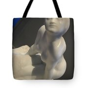 Rodin's Figure Of A Women Or The Sphinx Tote Bag