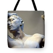 Rodin's The Vanguished Up Close Tote Bag